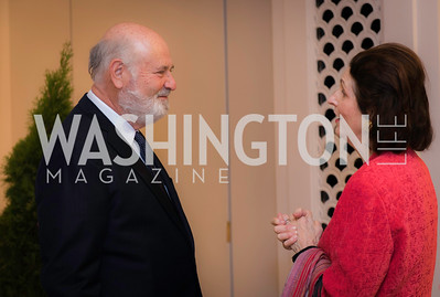 Rob Reiner, Lynda Bird Johnson Robb, Private Screening of LBJ, The National Archives, November 14, 2016, photo by Ben Droz