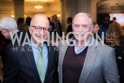 Mark Troppe, Jack Henman, Private Screening of LBJ, The National Archives, November 14, 2016, photo by Ben Droz