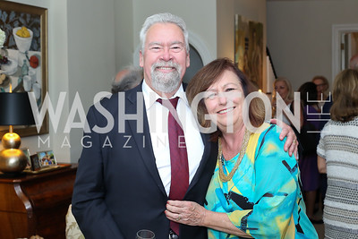 """Don and Jane Podesta. Photo by Tony Powell. Vicky Moon """"Equal Parts"""" Book Party. September 8, 2016"""