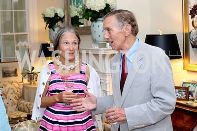 """Molly Hemphill and David Hemphill. Photo by Tony Powell. Vicky Moon """"Equal Parts"""" Book Party. September 8, 2016"""