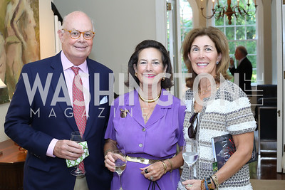 """Wesley Price, Sharon Lockwood, Barbara Price. Photo by Tony Powell. Vicky Moon """"Equal Parts"""" Book Party. September 8, 2016"""