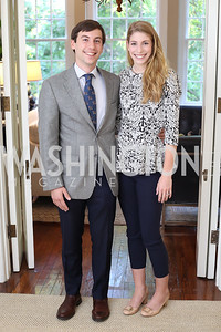 """Sebastian and Sophie Langenberg. Photo by Tony Powell. Vicky Moon """"Equal Parts"""" Book Party. September 8, 2016"""