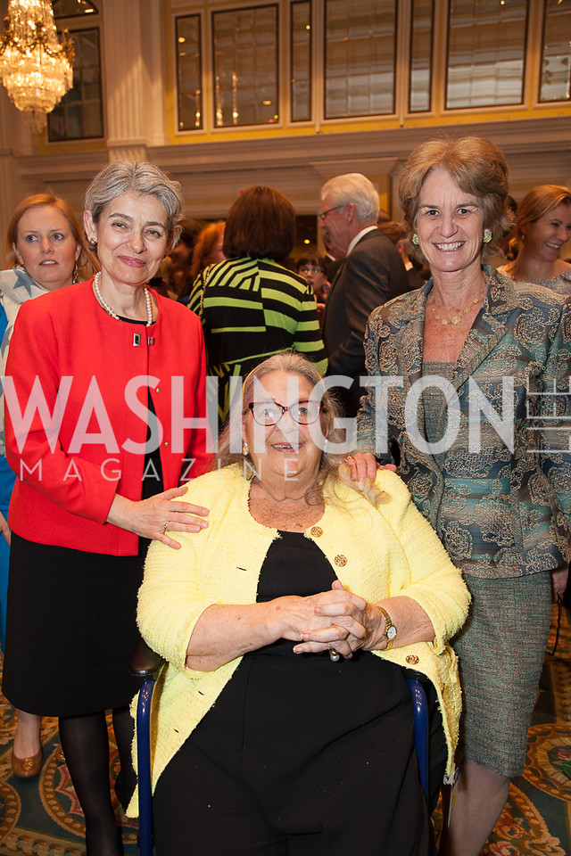 Alaina Bokova, Ester Cooper Smith , Lt. Gov Kathleen Kennedy Townsend