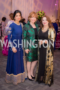 Akanksha Hazari, Susan Davis, Khanim Latif,