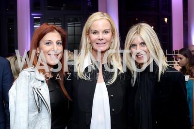 Jayne Sandman, Susanna Quinn, Marla Beck. Photo by Tony Powell. WE Tech Launch Party. Halcyon House. November 15, 2016