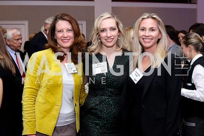 Erin Hogan, Karen Wawrzaszek, Laura Gail Smith. Photo by Tony Powell. WE Tech Launch Party. Halcyon House. November 15, 2016