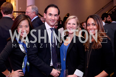 Sarah Lee Park, Danny Maiello, Katie Bucklew, Lindsay Avagliano. Photo by Tony Powell. WE Tech Launch Party. Halcyon House. November 15, 2016