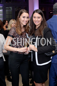 Chrissy Malamis, Katie Kiewel. Photo by Tony Powell. WE Tech Launch Party. Halcyon House. November 15, 2016