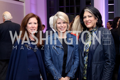 Alexis Kaufmann, Penny Lee, Tammy Haddad. Photo by Tony Powell. WE Tech Launch Party. Halcyon House. November 15, 2016