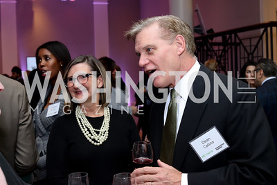 Sheila and Dean Catino. Photo by Tony Powell. WE Tech Launch Party. Halcyon House. November 15, 2016