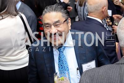 Bob Hisaoka. Photo by Tony Powell. WE Tech Launch Party. Halcyon House. November 15, 2016