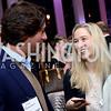Josh Bernstein, Anna Mason. Photo by Tony Powell. WE Tech Launch Party. Halcyon House. November 15, 2016