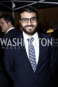 Afghanistan Amb. Hamdullah Mohib. Photo by Tony Powell. 2016 WHC Press for the Press Party. April 27, 2016