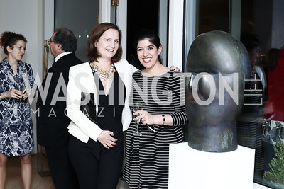 Valerie McCabe, Yasmeen Alamiri. Photo by Tony Powell. 2016 WHC Press for the Press Party. April 27, 2016