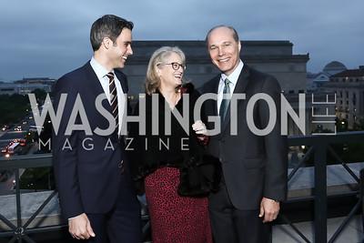 Devin Dwyer, Alma Paty, John Paty. Photo by Tony Powell. 2016 WHC Press for the Press Party. April 27, 2016