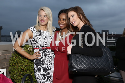 Kimberly Schwandt, Shannon Augustus, Kristin Fisher. Photo by Tony Powell. 2016 WHC Press for the Press Party. April 27, 2016