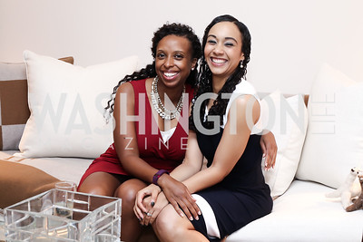 Shannon Augustus, Francesca Chambers. Photo by Tony Powell. 2016 WHC Press for the Press Party. April 27, 2016