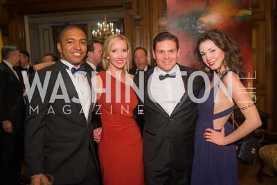 Rich Counts, Lindsey Mask, Ambassador Juan Carlos Pinzon, Bayly Hassel