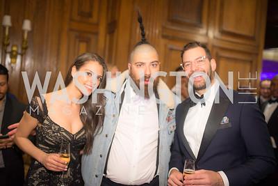 Adriana Brizuela, Josh Ostrovsky (AKA The Fat Jewish), Chris Gindlesperger