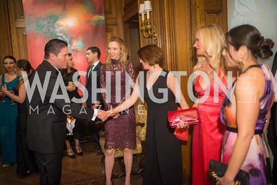 Ambassador Juan Carlos Pinzon, Kristen Smith, Natalie Thomas, Julie Donahue, Leanne Bortner