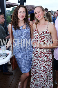 Hayley Gillooly, Renee Vuillaume. Photo by Tony Powell. WL Launch Into Summer. The Graham. June 24, 2016