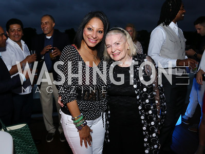 Deme Kahn, Donna Shor. Photo by Tony Powell. WL Launch Into Summer. The Graham. June 24, 2016