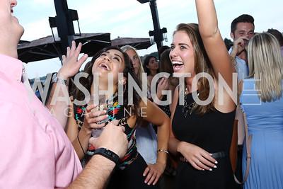 Natasha Nour, Madeline Regeinstreif. Photo by Tony Powell. WL Launch Into Summer. The Graham. June 24, 2016