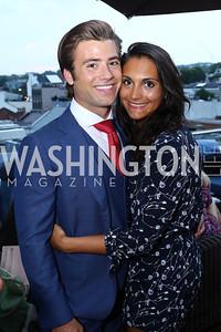 Matthew Linardi, Stephanie Tedeschi. Photo by Tony Powell. WL Launch Into Summer. The Graham. June 24, 2016