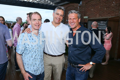 Christopher Calvin, Maarten Byl, Jim Rayborn. Photo by Tony Powell. WL Launch Into Summer. The Graham. June 24, 2016