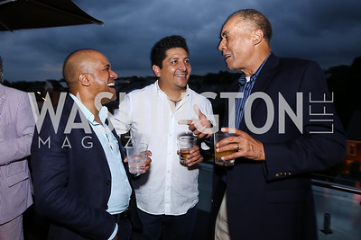 Gaston Boisson, Roberto Colque, Thomas Hart. Photo by Tony Powell. WL Launch Into Summer. The Graham. June 24, 2016