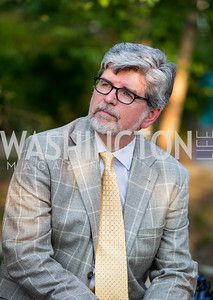 David Wildt. Photo by Erin Schaff. 2016. Washed Ashore: Art to Save the Sea VIP Reception. Smithsonian National Zoo Elephant Community Center. May 26, 2016.