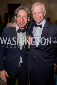 Septime Webre, Jack Evans, Washington Ballet Spring Gala, The Bowie Ball, at the Mellon Auditorium, April 29, 2016, photo by Ben Droz.