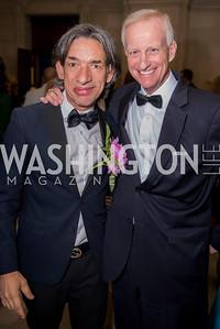 Septime Webre, Jack Evans, Washington Ballet Spring Gala, The Bowie Ball, at the Mellon Auditorium, April 29, 2016, photo by Ben Droz.