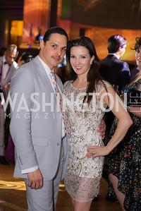 Luis Torres, Morgan Rose, Washington Ballet Spring Gala, The Bowie Ball, at the Mellon Auditorium, April 29, 2016, photo by Ben Droz.