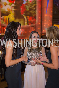 Amy Baier, Pilar O'Leary, Jean-Marie Fernandez, Washington Ballet Spring Gala, The Bowie Ball, at the Mellon Auditorium, April 29, 2016, photo by Ben Droz.