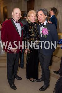 Bill Detty, Lola Reinsch, Septime Webre, Washington Ballet Spring Gala, The Bowie Ball, at the Mellon Auditorium, April 29, 2016, photo by Ben Droz.
