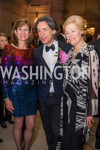 Linda Range, Septime Webre, Doroth McSweeny, Washington Ballet Spring Gala, The Bowie Ball, at the Mellon Auditorium, April 29, 2016, photo by Ben Droz.