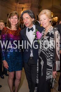 Linda Range, Septime Webre, Doroth McSweeny, Washington Ballet Spring Gala, The Bowie Ball, at the Mellon Auditorium, April 29, 2016, photo by Ben Droz.