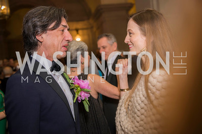 Septime Webre, Julie Kent,  Washington Ballet Spring Gala, The Bowie Ball, at the Mellon Auditorium, April 29, 2016, photo by Ben Droz.