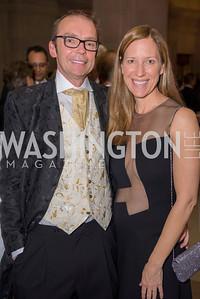 Filip Dubovsky, Micki Hullquist, Washington Ballet Spring Gala, The Bowie Ball, at the Mellon Auditorium, April 29, 2016, photo by Ben Droz.