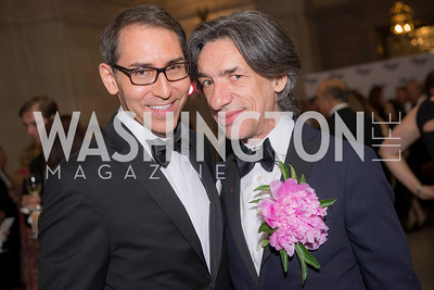 Arthur Espinoza, Septime Webre, Washington Ballet Spring Gala, The Bowie Ball, at the Mellon Auditorium, April 29, 2016, photo by Ben Droz.