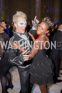 Sam Wilson, Ashley Murphy, Washington Ballet Spring Gala, The Bowie Ball, at the Mellon Auditorium, April 29, 2016, photo by Ben Droz.