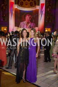 Amanda Toles, Lindsay Sustarsic, Washington Ballet Spring Gala, The Bowie Ball, at the Mellon Auditorium, April 29, 2016, photo by Ben Droz.