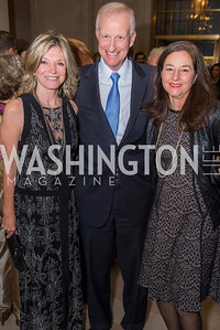 Kay Kendall, Jack Evans, Monica Medina, Washington Ballet Spring Gala, The Bowie Ball, at the Mellon Auditorium, April 29, 2016, photo by Ben Droz.