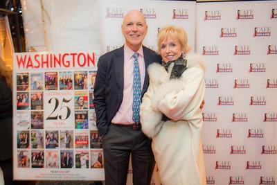 Washington Life Magazine Celebrates 25 Year Anniversary with Cafe Milano, December 5, 2016.  Photo by Ben Droz