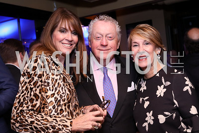 Lynly Boor, Tom Quinn, Colleen Quinn. Photo by Tony Powell. WL & Cafe Milano 25th Anniversary. December 5, 2016