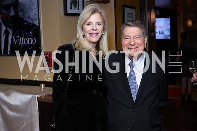 Jane and Calvin Cafritz. Photo by Tony Powell. WL & Cafe Milano 25th Anniversary. December 5, 2016