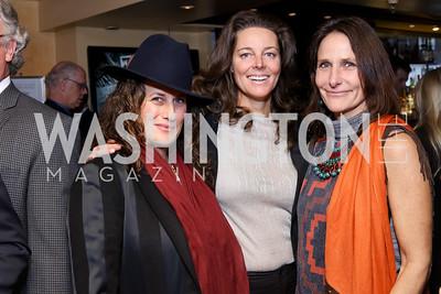 Julia Cohen, Alexandra Woodward, Sarah Ingersoll. Photo by Tony Powell. WL & Cafe Milano 25th Anniversary. December 5, 2016