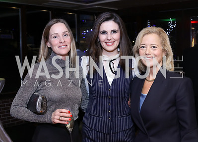 Kathleen Biden, Kosovo Amb. Vlora Citaku, Hilary Rosen. Photo by Tony Powell. WL & Cafe Milano 25th Anniversary. December 5, 2016