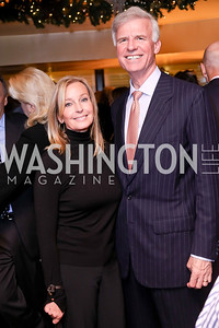 Bo Derek, Fred Ryan. Photo by Tony Powell. WL & Cafe Milano 25th Anniversary. December 5, 2016